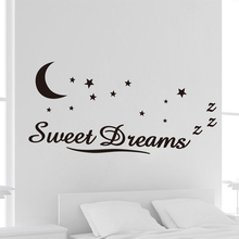 Removable Sticker Decor Vinyl Art New Promotions Sweet Dreams Star Wall Sticker Quote Decal