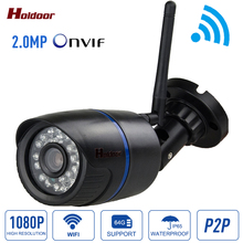 1080P HD IP Camera 2MP WIFI Onvif 2.0.4 P2P  for Smartphone Support 64G Micro SD Card 15m IR Night Vision Mini Home Security Cam