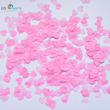 1500pcs/Pack DIY process Heart Shaped paper environmental protection flower petals Wedding Party Decor Scatter Confetti
