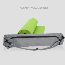 Yoga Mat Bag Gym Mat Bag Oxford Yoga Storage Pilates Mat Case Bag Carriers Exercise Gym Fitness Carring Bag Carrier Backpack(China)