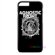 Agnostic Front My Life cell phone case cover for iphone 4 4s 5 5s 5c SE 6 6s plus 7 plus #ce27