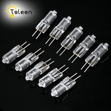 TSLEEN Hot Sale 20PCS Super Bright G4 12V 20W Tungsten Halogen Bulb Lamp Lighting Light Bulb(China)