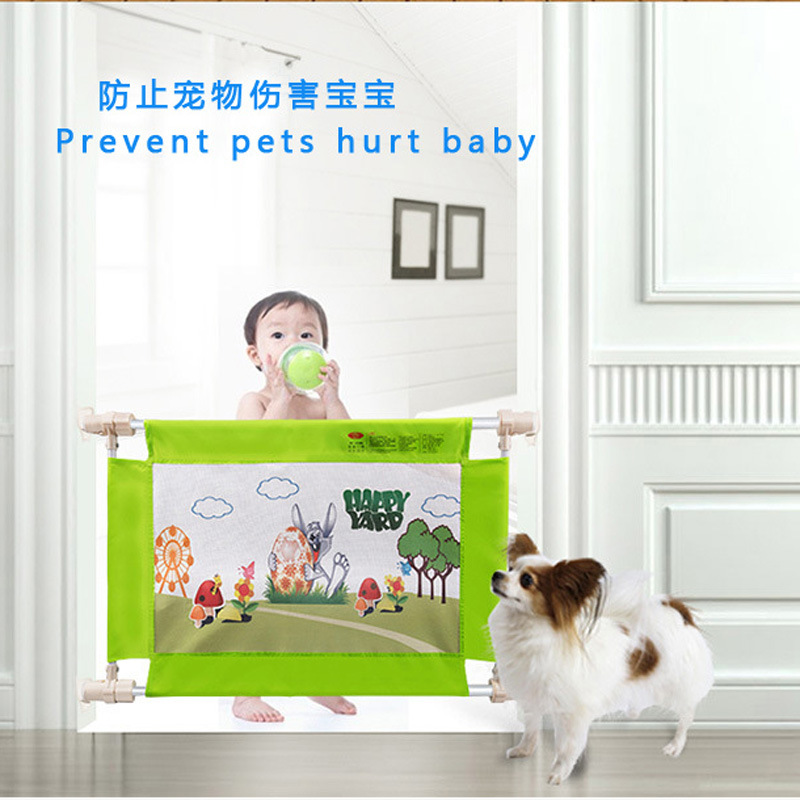 Swing down different length baby bed foldable safety rail