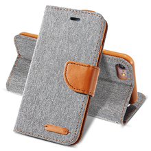 Case For iPhone 7 6 6s Plus Cover Soft Cloth Skin Silicon Shell Full Protective Wallet Flip Cover For iPhone 5 5s SE 6 6s 7 Case