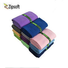 Zipsof Quick Microfiber towels With Bandage Drying Travel Sports Swim Gym Yoga Adults Blanket Spa Bady Wraps Bath New year gift(China)
