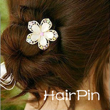 Wedding Bridal Bridesmaid Flower Rhinestone Hair Pins Clips for Wedding Accessories for Hair @M23