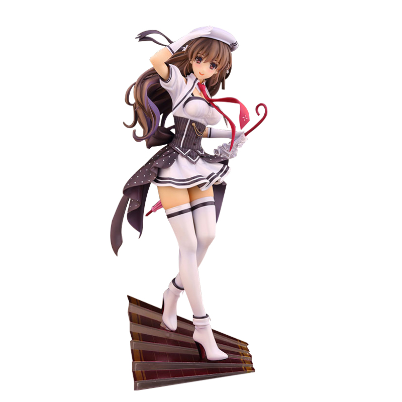 HOT SEXY Girl Action 26cm Anime AlphaMax CHUNITHM Figure Misaki Kurehito PVC  Collection Hobby Model Doll Gift Cosplay Toy<br>