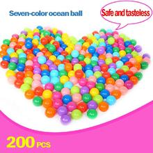Baby Playpen Baby Pool Balls Baby Playpen 200pc Wholesale Ball Pit Balls Colored Plastic(China)