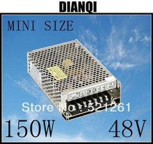 power supply 48v 150w 48V 3.2A power suply 150w mini size led power supply unit  ac dc converter ms-150-48