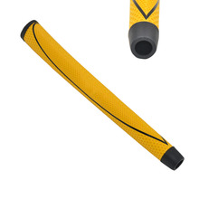 NEW SC MIDSIZE GOLF PUTTER GRIP YELLOW Free shipping