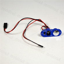1pc Kosta Aluminum Heavy Duty Single Power Switch With Fuel Dot For RC Models(China)