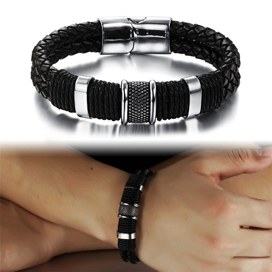 OPK-Handmade-Genuine-Leather-Weaved-Double-Layer-Man-Bracelets-Casual-Sporty-Bicycle-Motorcycle-Delicate-Cool-Men (1)