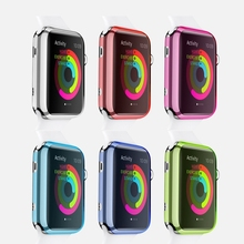 Luxury crystal hard plastic case for apple watch series 1 42mm 38mm protective transparent cover case for 42 mm 38 mm 10pcs