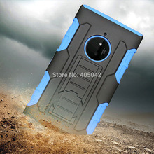Phone cases For Nokia Lumia 830 Heavy duty Rugged Armor Hybrid Case Shockproof Cover Belt Clip Holster for Lumia 830