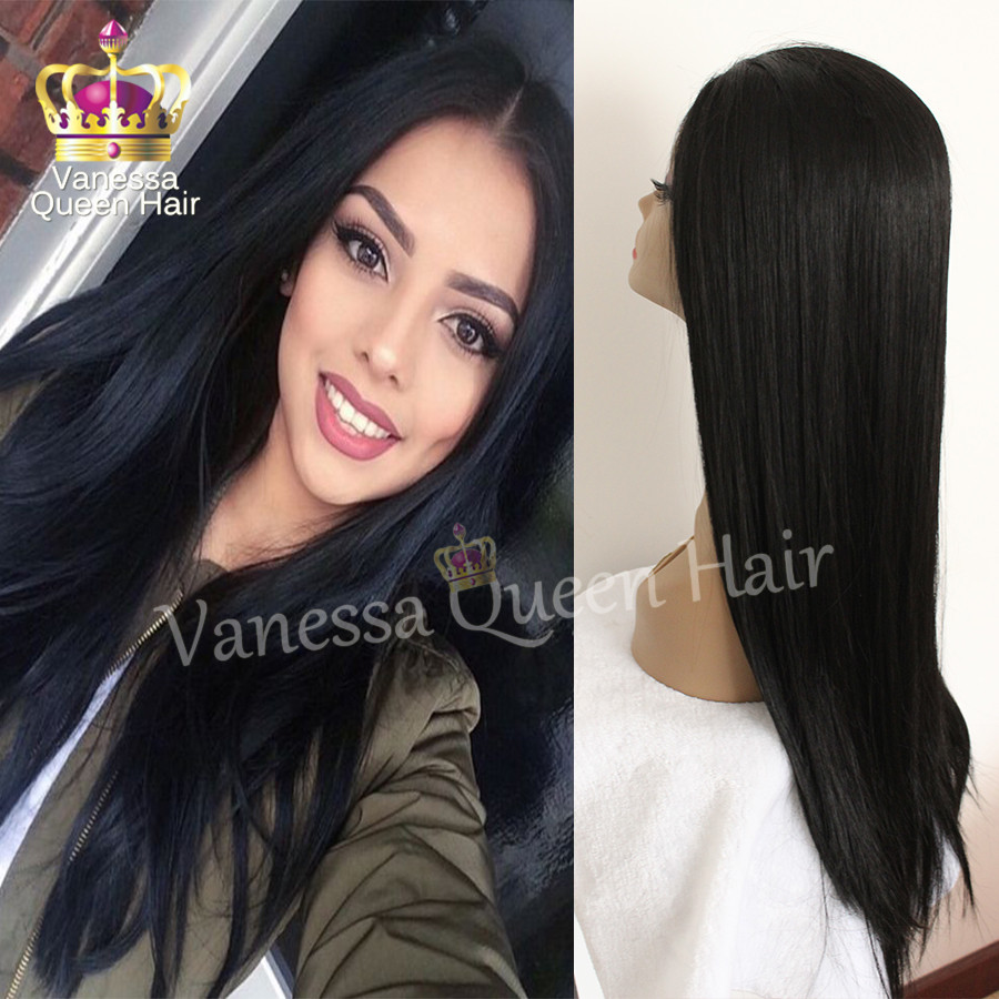 7A Brazilian Hair Synthetic Wig Heat Resistant Fiber Lace Front Wigs Glueless Free Part For Black Women Synthetic Lace Front Wig<br><br>Aliexpress