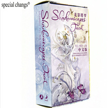 """Shadowscapes Tarot"" Board Game 78 PCS/Set Beautiful Cards Game Chinese/English Edition Tarot Board Game For Family/Friends(China)"