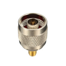 RF Coxial Connector Adapter L16 N Male To SMA Female Nickel Gold Plating Straight Plug Jack Socket Terminals