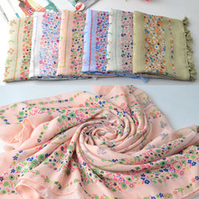 Scarves 2017,cotton flower scarf,floral hijab,Muslim hijab,shawls wraps,muffler,cape,shawls and scarves,head wrap,british style