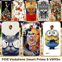 Top Selling Painting Design Hard Plastic Case For Vodafone Smart Prime 6 VF-895N 5.0 Inch 895N Phone Cover Protective Sleeve