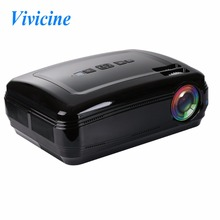 Vivicine 3200Lumens Best Cheap Portable HD 1080p LED Projector,1280x800 HDMI USB Home Theater Cinema Video Proyector Beamer