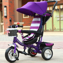 Child bicycle Outdoor Fun Sports Ride On Toys Tricycle Baby Bicycle Stroller Infant Stroller Ride On Cars toys(China)