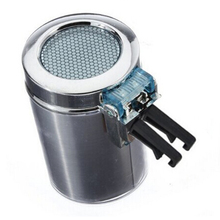 Portable Car Vehicle Air Vent Auto LED Light Cigarette Smokeless Ashtray Holder (Silver Car Ashtray)(China)