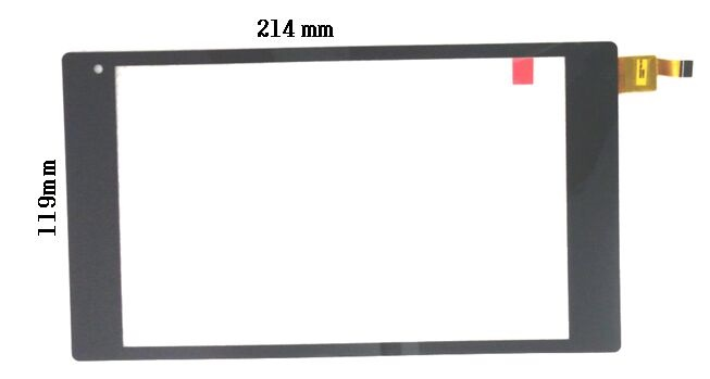 New touch screen 8 Tesla Tablet M8 Tablet Touch panel Digitizer Glass Sensor Replacement Free Shipping<br>