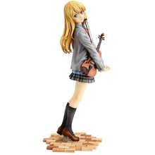 ZXZ 20cm Figurine Japanese Anime Your Lie in April Kaori Miyazono Action Figure PVC Collection Figures Toys Children Adult Gift
