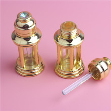 3 ml Mini Gold And Bronze Color 3 CC Mini Alloy Bottle Vials Sample Test Bottle For Essential Oils Perfume(China)
