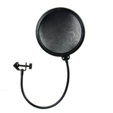 1Pc Recording Studio Microphone Filters Wind Screen Pop Filter Mask Shield Double Layer For Microphone Accessories