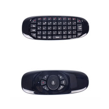 2.4G wireless remote control mouse and keyboard set one mini air flying squirrel mouse computer TV(China)