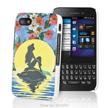 Mermaid Love Cases Hard PC Back Cover Phone Case For Blackberry Z10 Z30 Q20 Q10 Q30 Passport Silver Edit Q5 phone case