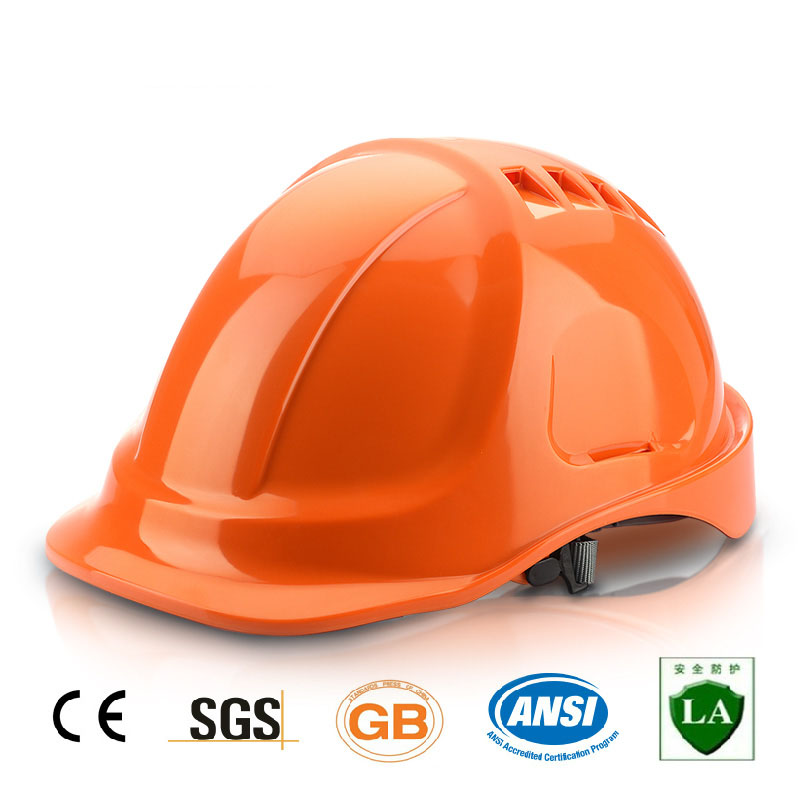 Safety Helmet Hard Hat Work Cap ABS Material Construction Protect Helmets High Quality Breathable Engineering Power Labor Helmet (2)