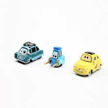 Pixar Cars 2  Luigi Guido Professor Z 1:55 Scale Diecast Metal Alloy Modle Toys For Children Gifts Lightning McQueen