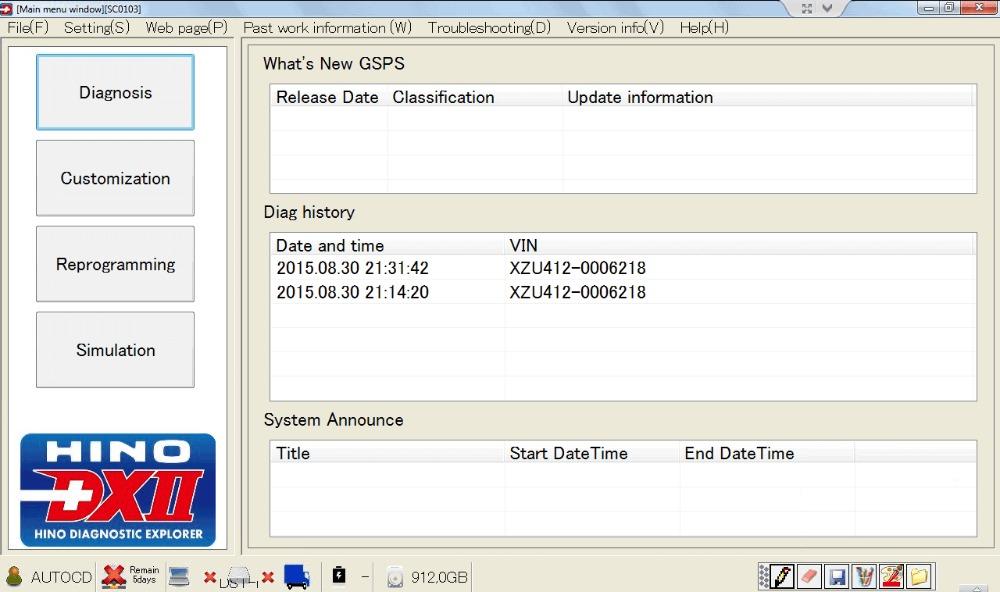 Hino Diagnostic eXplorer 2 - DX2 1.1.16.7 + Datab...