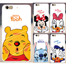 High quality Mickey Mouse Donald Duck Cartoon Painted PC Hood Phone Cases For Huawei Honor 4C Honor4C case cover skin shell(China)
