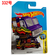 New Arrivals 2017 P Hot Wheels 1:64 quick bite Diecast Car Models Collection Kids Toys Vehicle For Children hot cars(China)
