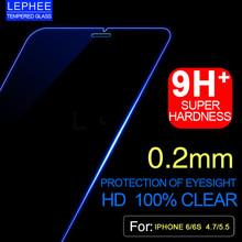 LEPHEE for iPhone 6 6S Plus 6Plus Tempered Glass Screen Protector Protective Film Case for iPhone 6 Plus Glass(China)