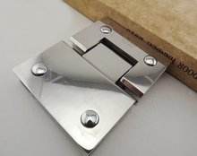 304 stainless steel glass clamp thickened precision casting bathrooms folder (180 Degrees is open)