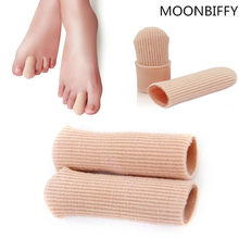 1 Pcs New Durable Gel Cap Finger Toe Blister Callouses Relief Tube Protector Small Foot Care Health Toe health To Insoles