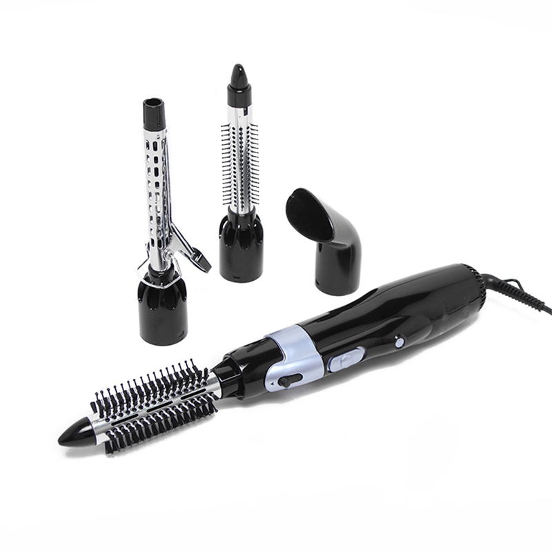 4in1 1000W Multifunction Hair Dryer Styling Tools Set Professional Electric Hair Dryer Curly Hair Straightener Brush Comb Blower<br>