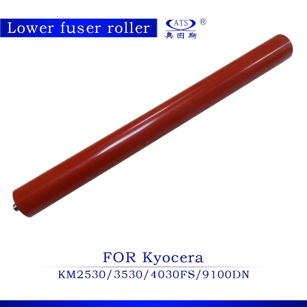 1pcs Photocopy Machine Lower Roller Fuser Roller For Kyocera KM2530 3530 FS4030 9100DN<br>