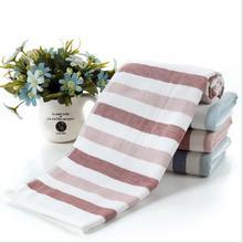 Stripe Towel Microfiber Cotton Bath Towel Christmas Decoration For Home Face Towels For Kids Toalha 70*140cm S3(China)