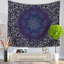Custom Mandala Wall Tapestry Beach Scarf Bar Wall Hanging Home Decor Towel Blanket Wholesale
