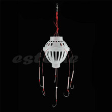 1pc Fishing Tackle Sea Fishing Box Hook Monsters with Six Strong Fishing Hooks 6 hooks