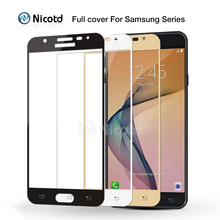 Full Cover Tempered Glass for Samsung Galaxy J5 J7 Prime C5 C7 S6 S7 C5000 Screen Protector Film For Galaxy A3 A5 A7 2017 2016