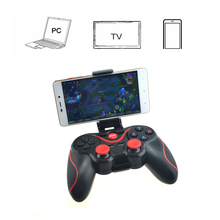 New Terios T3 Wireless Joystick Controller Gamepad Bluetooth Included Stand Holder For Free All Free Shipping(China)