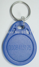 50pcs/bag 125Khz RFID Proximity EM ID Card Token Tags Key Keyfobs for Access Control Time Attendance(China)