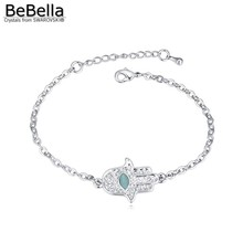 BeBella fatima hand bracelet made with Swarovski Elements for women gift(China)