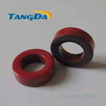 Tangda Iron powder cores T200-2 OD*ID*HT 51*31*14.5 mm 12nH/N2 10uo Iron dust core Ferrite Toroid Core Coating Red gray .